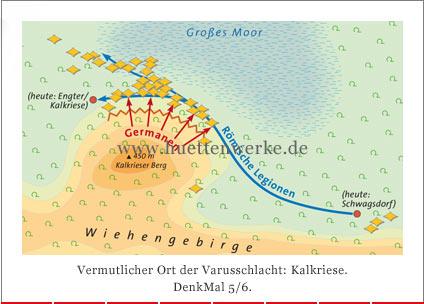 Varusschlacht Karte.Karte09 Jpg